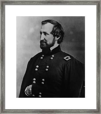 William Rosecrans 1819-1898, U.s. Army Framed Print
