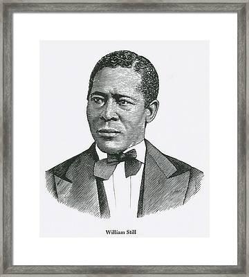 William Still 1819-1902 Was An Framed Print by Everett