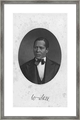 William Still 1821-1902, Abolitionist Framed Print