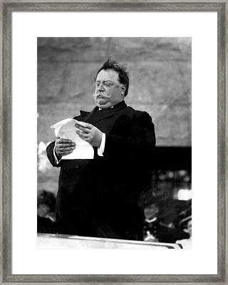 William Taft, 1857-1930, U.s. President Framed Print by Everett