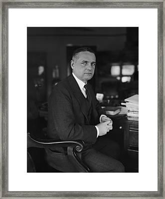 William Wild Bill Donovan 1883-1959 Framed Print by Everett