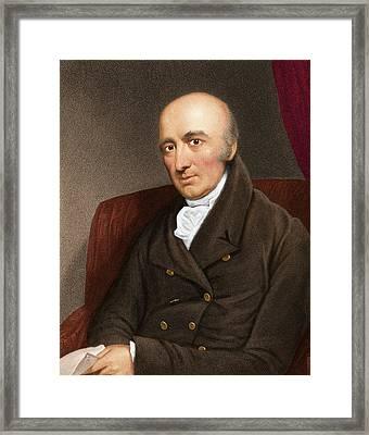 William Wollaston, English Chemist Framed Print