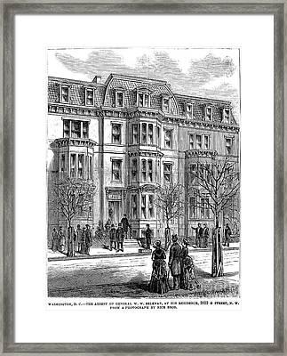 William Worth Belknap Framed Print by Granger