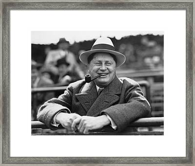 William Wrigley, 1861-1932, President Framed Print by Everett