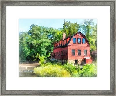 Williams-droescher  Mill Framed Print by Susan Savad