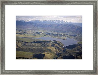 Williams Fork Reservoir Provides Water Framed Print by Michael S. Lewis