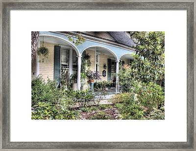 Williams Macmillan House Framed Print by JC Findley