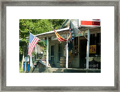 Williams River General Store Framed Print by Thomas R Fletcher