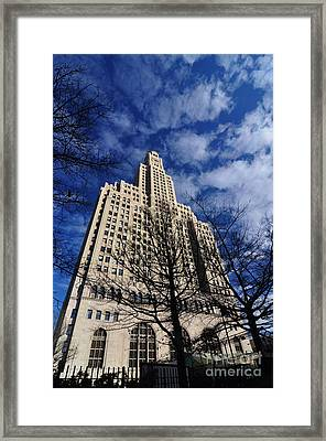 Williamsburgh Bank Building Framed Print by Mark Gilman