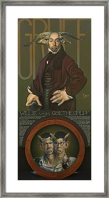 Willie Von Goethegrupf Framed Print by Patrick Anthony Pierson