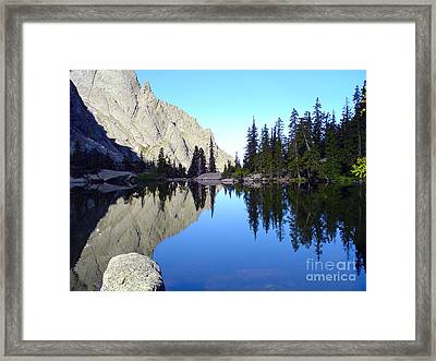 Willow Lake Afternoon Framed Print by Scotts Scapes