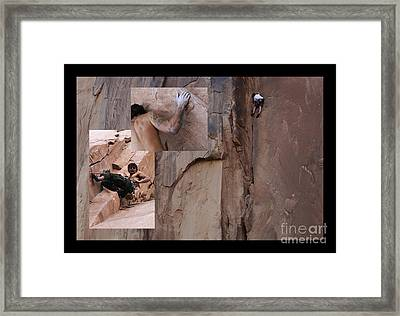 Willpower No Caption Framed Print by Bob Christopher