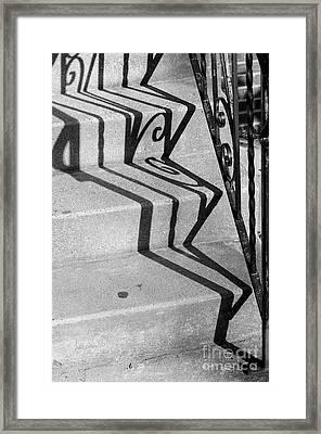 Willy Wonka's Warped World Framed Print by Luke Moore