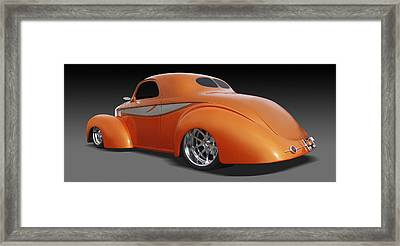 Willys Framed Print by Mike McGlothlen