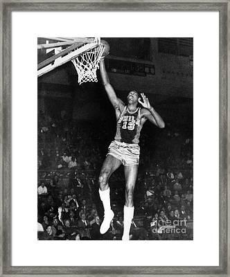 Wilt Chamberlain (1936-1996) Framed Print