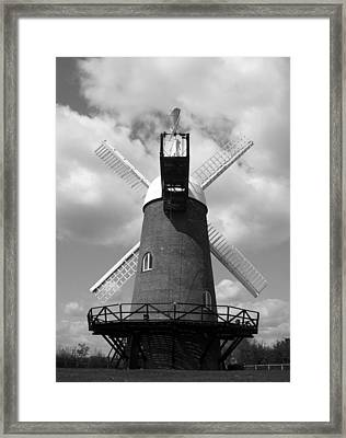 Wilton Windmill Framed Print