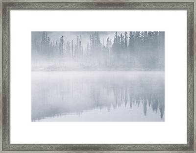 Winchell Lake, Water Valley, Alberta Framed Print