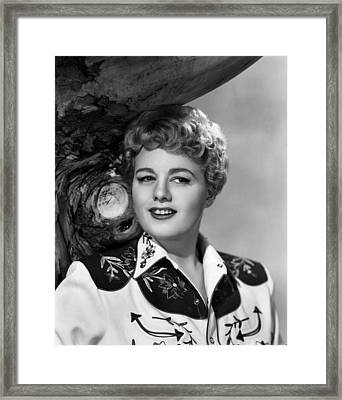 Winchester 73, Shelley Winters, 1950 Framed Print