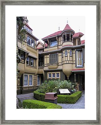 Winchester House - Door To Nowhere Framed Print by Daniel Hagerman