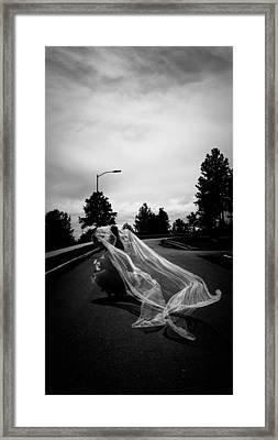Wind And Cloth 2 Framed Print