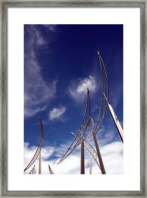 Wind Bows Framed Print by Robert  Stephenson