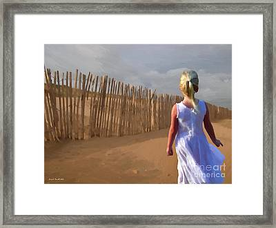Wind Breaker Framed Print by Jerry L Barrett