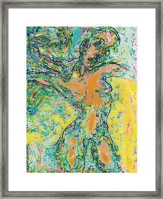 Wind Dancer Framed Print by Allen Vandever