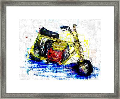 Wind In Your Hair Framed Print by Russell Pierce