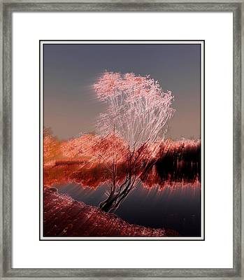 Framed Print featuring the photograph Wind by Irina Hays