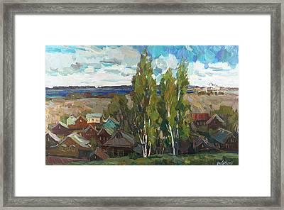 Wind Of Spring Framed Print