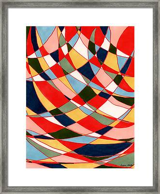 Wind Tunnel Framed Print
