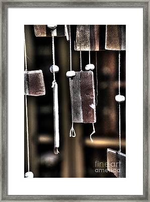 Windbreak Harp 2 Framed Print by Elena Mussi