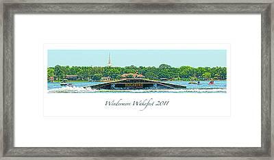 Windermere Wakefest Framed Print