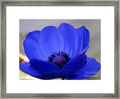 Windflower Framed Print