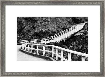 Winding Pass Framed Print