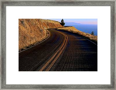 Winding Road Framed Print by Garry Gay