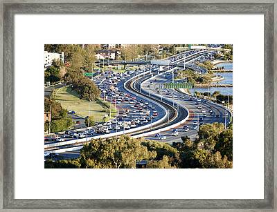 Winding Road Framed Print by Yew Kwang
