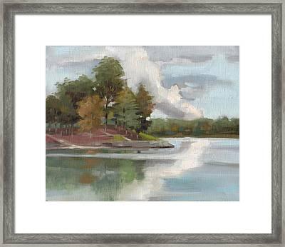Windjammer Park Framed Print by Todd Baxter