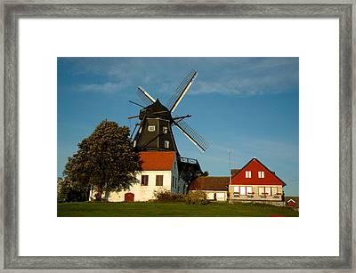 Windmill - Sweden Framed Print by Joshua Benk