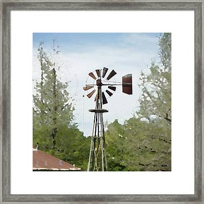 Windmill II, You Can Sell Your Framed Print