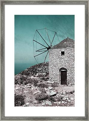 Windmill Framed Print by Joana Kruse