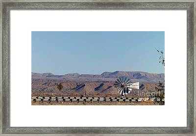 Windmill Of Time Framed Print by Feile Case