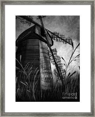 Windmill Wounded Framed Print