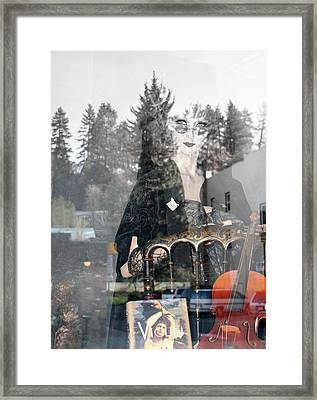 Framed Print featuring the photograph Window Art by Holly Ethan