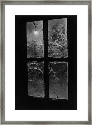 Window At Castle Frankenstein Framed Print by Simon Marsden