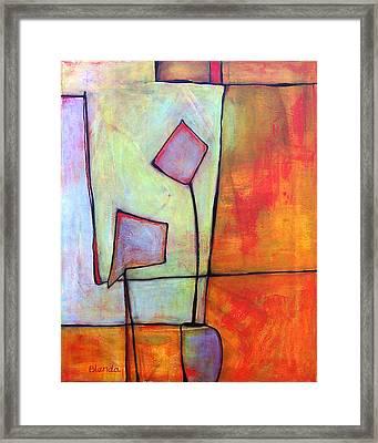 Window Dressing Framed Print by Blenda Studio