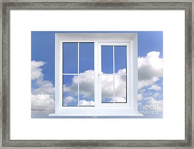 Window In The Sky Framed Print by Richard Thomas