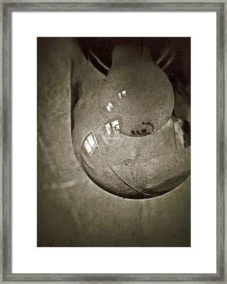 Window Light Framed Print by Odd Jeppesen