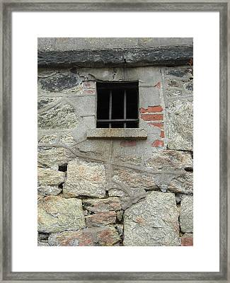 Framed Print featuring the photograph Window Of Desire by Christophe Ennis