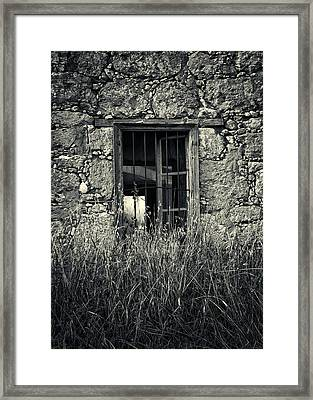 Window Of Memories Framed Print by Stelios Kleanthous
